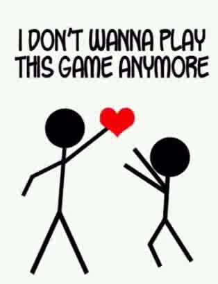 Quit Playing Games With My Heart Quotes